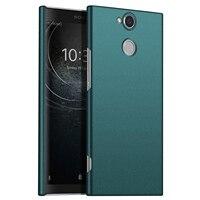 Voor Sony Xperia XA2 Ultra Case, ultra-Dunne Minimalistische Slim Beschermende Telefoon Case Back Cover Voor Sony Xperia XA2