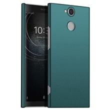 لسوني اريكسون XA2 XA3 حافظة فائقة ، رقيقة جدا الحد الأدنى سليم واقية جراب هاتف غطاء الخلفي لماركة سوني اريكسون XA2