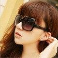 RBspace Brand  2017  sunglasses female sunglasses polarized sunglasses women's fashion vintage big box sunglasses