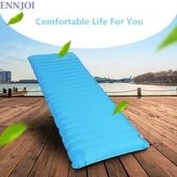 ENNJOI Outdoor Sleeping Pad Sleeping Bag Ultralight Camping Inflatable Damp Proof Air Mattress Sleeping Bed Mat