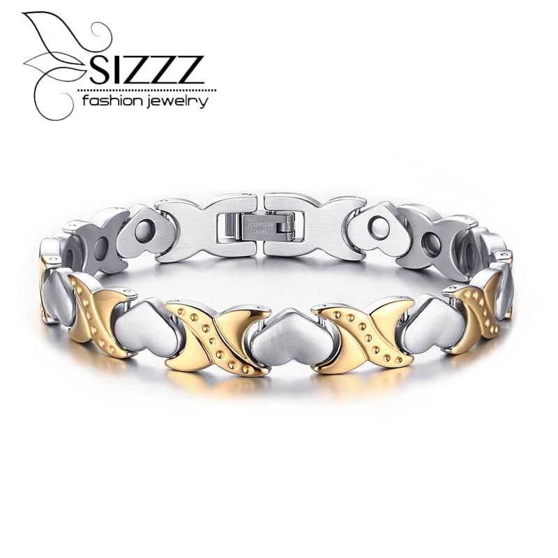 2016 New Stainless Steel Bracelets & Bangles Women