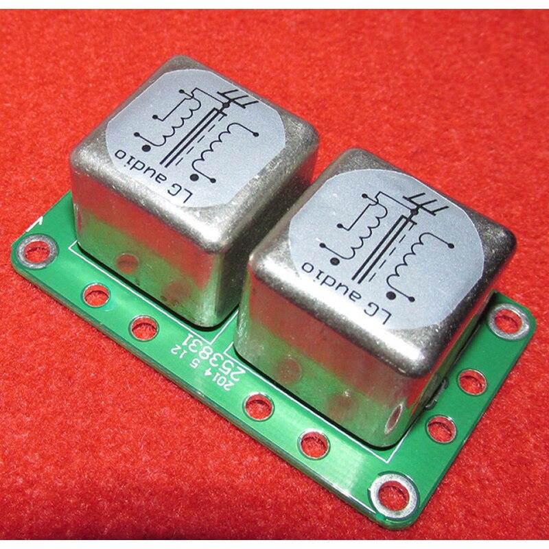 Używane Permalloy 100: 47 K MC odbioru detonatora transformator winylowa płyta długogrająca MC step up transformatora w Transformatory od Majsterkowanie na AliExpress - 11.11_Double 11Singles' Day 1