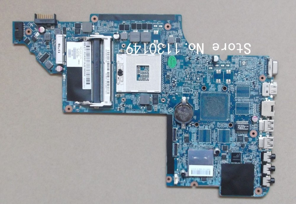 ФОТО Laptop motherboard for HP pavilion DV6-6000 motherboard 665351-001 HM65 chipset Free shipping