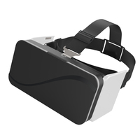VR 3D Box VR Glasses Foldable 3D Glasses Virtual Reality Goggles Headset Googles Cardboard For 4.7 6.0 Smartphone