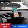 C-RV Auto Zubehör Telefon Halter Für Honda CRV 2017 2018 2019 Dreh Smartphone Halter Air Vent Auto Halterung