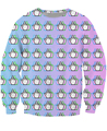 trippy Middle Finger Crewneck Sweatshirt Emoji psychedelic Sexy Jumper Women Men  Tops Casual Hoody Hip Hop Jogger Pullover