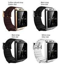 Freies DHL SmartWatch GV08S Sim-karte Smart Uhr Für Männer/Frauen 4 Farben Bluetooth 3,0 Kompatibel Mit Alle Smart-handys 2,0 Mt
