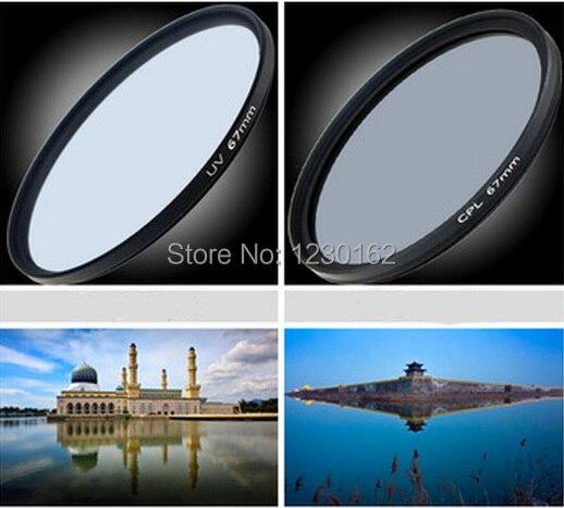 2pcs/lot Digital Boy 62mm UV Lens Filter+62mm Circular Polarizing CPL Filter kit for Canon 18-135 70-200 Nikon 18-105 free ship