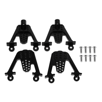 4PCS Aluminum Rear & Front Shock Mount LIFT Shocks For Axial SCX10 RC Crawler Shock Absorber for 1/10 Axial SCX10 RC Car 4pcs set rc 4wd 1 10 model crawler care universal hydraulic shock absorber climbing car negative pressure shock absorber 100mm
