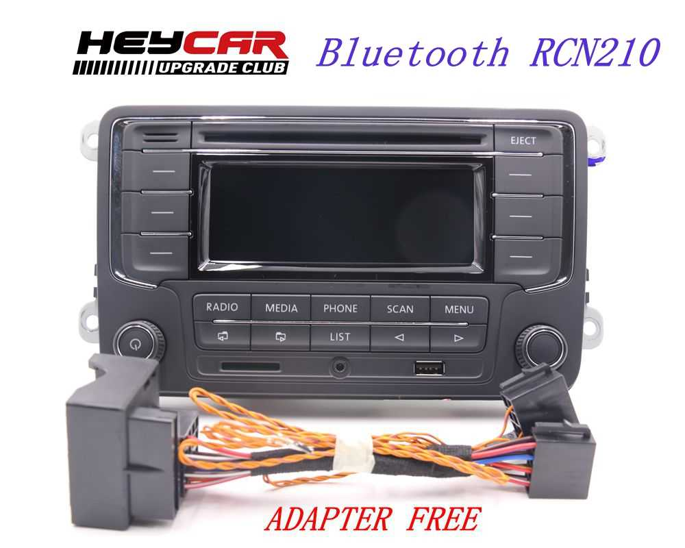 AIDUAUTO USED RCN210 Bluetooth MP3 USB Player CD MP3 Radio