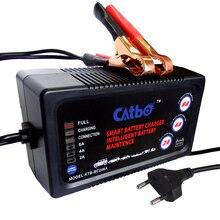CATBO 6 V/12 V 2A/4A/6A Carro Carregador de Bateria, Carregador de Bateria automático Inteligente, manutenção & Desulfator para Baterias de Chumbo Ácido