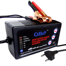 CATBO 6V/12V 2A/4A/6A Car Battery Charger, Automatic Smart Battery Charger, Maintainer & Desulfator for Lead Acid Batteries(China)