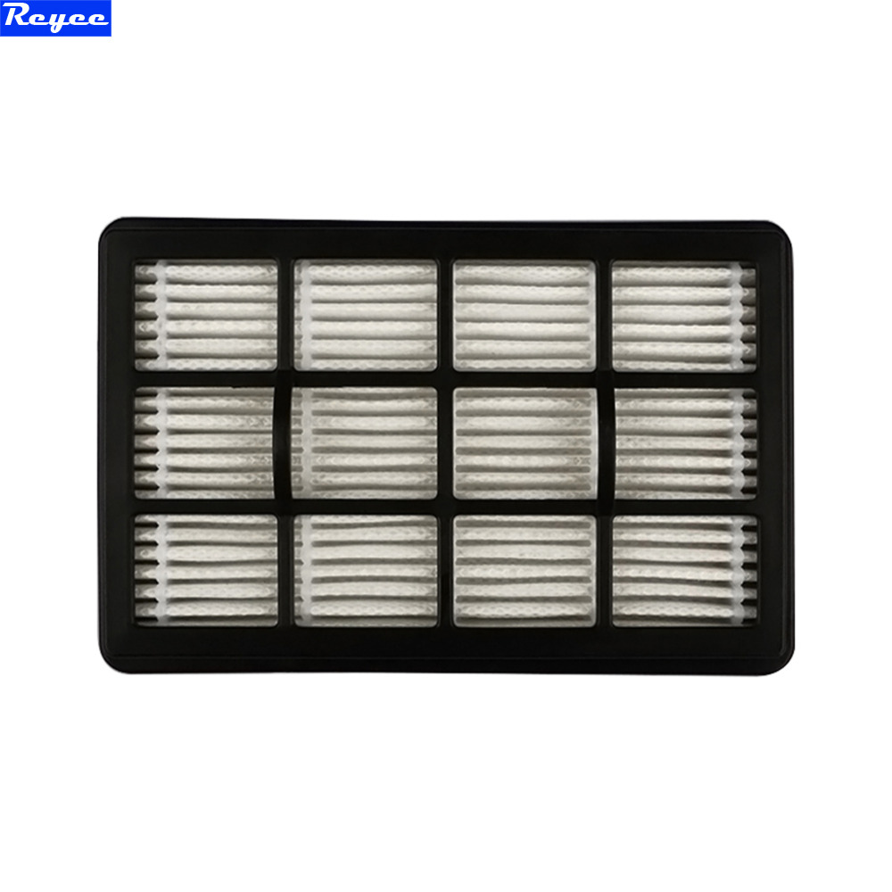 130*83*22mm size of hepa filter with good quality of vacuum cleaner parts hepa filter and filter cartridge ZW1608 142 126mm size plastic and steel wire frame hepa filter and the original of hepa vacuum cleaner parts for gy308 15l gy309 18l