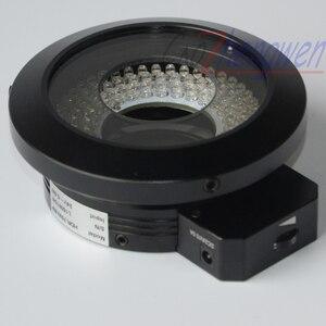 Image 1 - Кольцевой светильник FYSCOPE 120, светодиодный поляризационный кольцевой светильник для микроскопа