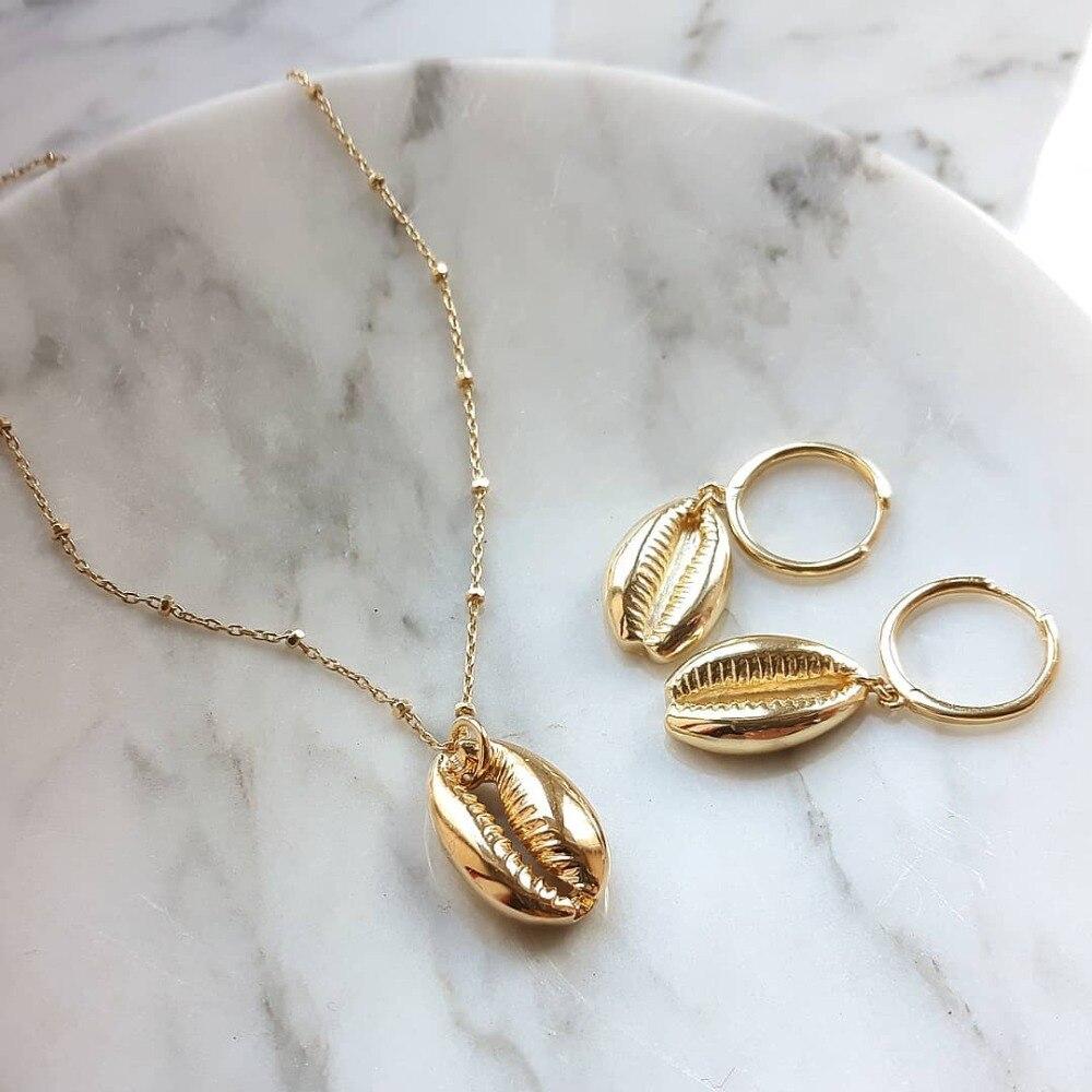 Artilady Cowrie shell choker necklace rope chain choker boho jewelry for women dropshipping
