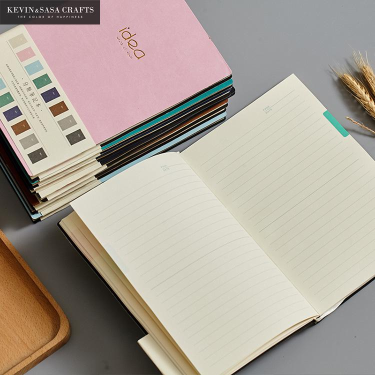 Details about  /Notebook Luxury Inner PU 80 Sheets Planner Sketchbook Diary Note Book Kawaii