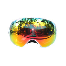 Double Layers Anti-Fog Ski Goggles Men Women Sports Ski Glasses Snowmobile Skiing Mask Snow Sunglasses Snowboarding Eyewear(China)
