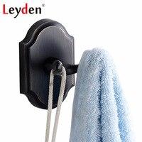Leyden ORB SUS 304 Stainless Steel Coat Hooks Wall Mounted Hanger Black Wall Hook Oil Rubbed