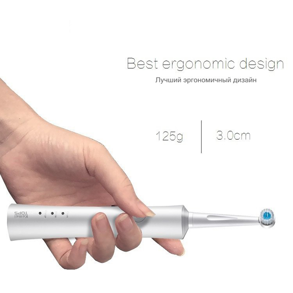 Image 5 - Electronic toothbrush electric toothbrushes vibrating Rechargeable tooth brush dental care USB charge teeth cleaning for adult 4-in Electric Toothbrushes from Home Appliances