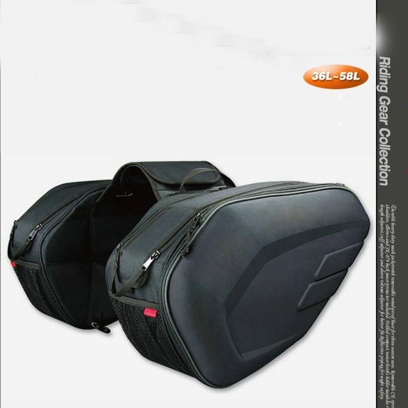 SA212 Motorcycle Saddle BAg Side Package Helmet Bag For YAMAHA Fz1 Fz1S FZ6 FZ6S FZ8 FZ8S FZR1000 FZS1000 TdM 850 900 BT1100