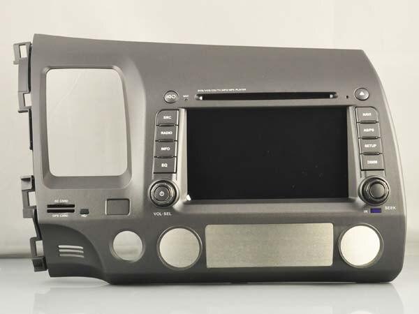 Android 8.1.0 2GB ram car dvd Audio player FOR HONDA CIVIC 2006-2011 left AUTO stereo media radio head unit receiver BT 3g WIFI