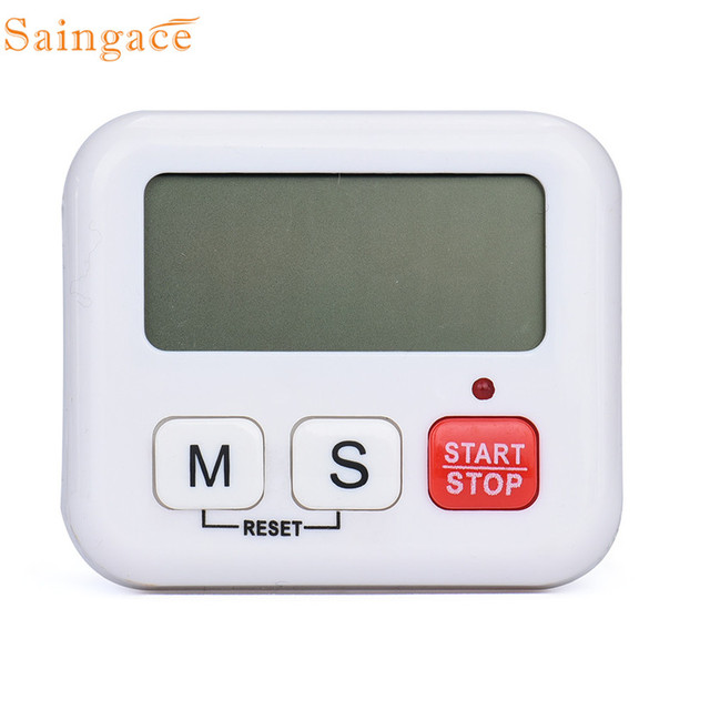 Magnetic Kitchen Cooking Large LCD Digital Timer Count Down Up Loud ...