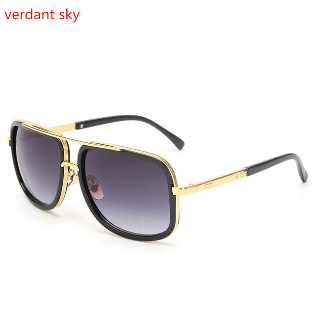 edf4cfa8954 2017UV400 Brand Designer Sunglasses Men Women Vintage Sun glasses Big Frame  Fashion Glasses Top Quality Eyeglasses Original box