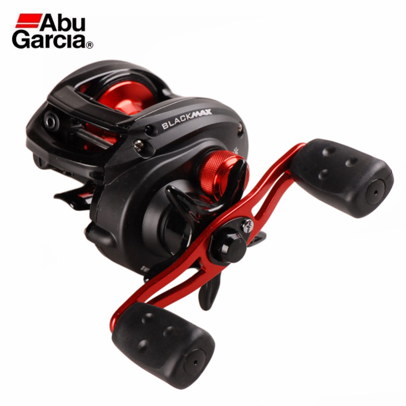 Abu Garcia Brand Black BMAX3 Right Left Hand Baitcasting Fishing Reel 5BB 6.4:1 202g Max Drag8kg Wheel Carretilha Moulinet Peche цена