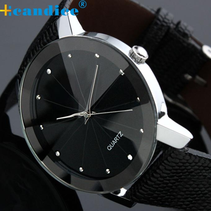 Splendid Luxury Wristwatches Quartz Sport Military Stainless Steel Dial Leather Band Wrist Watch Men Masculino Reloje luxury high quality genuine leather quartz business dress wrist watch wristwatches for men male stainless steel dial op001