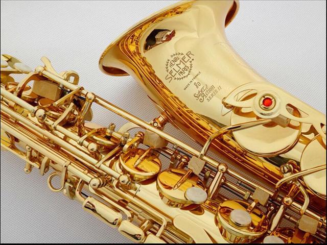 DHL, Fedex Бесплатно Профессиональный Саксофон ми-Бемоль Саксофон Альт Франция Анри Selmer Альт-Саксофон 802 Saxfone Бемоль Музыкальные инструменты