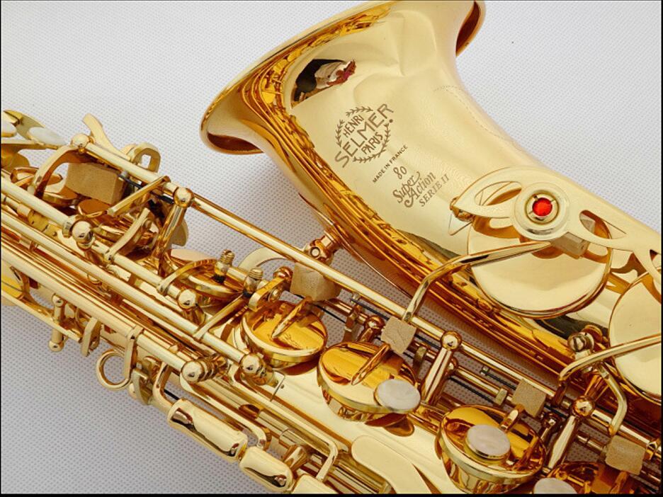 DHL,Fedex Free Professional Saxophone E Flat Sax Alto France Henri Selmer Alto Saxophone 802 Saxfone E Flat Musical Instruments dhl ups free professional saxophone e flat sax alto france henri selmer alto saxophone 802 saxfone top musical instruments