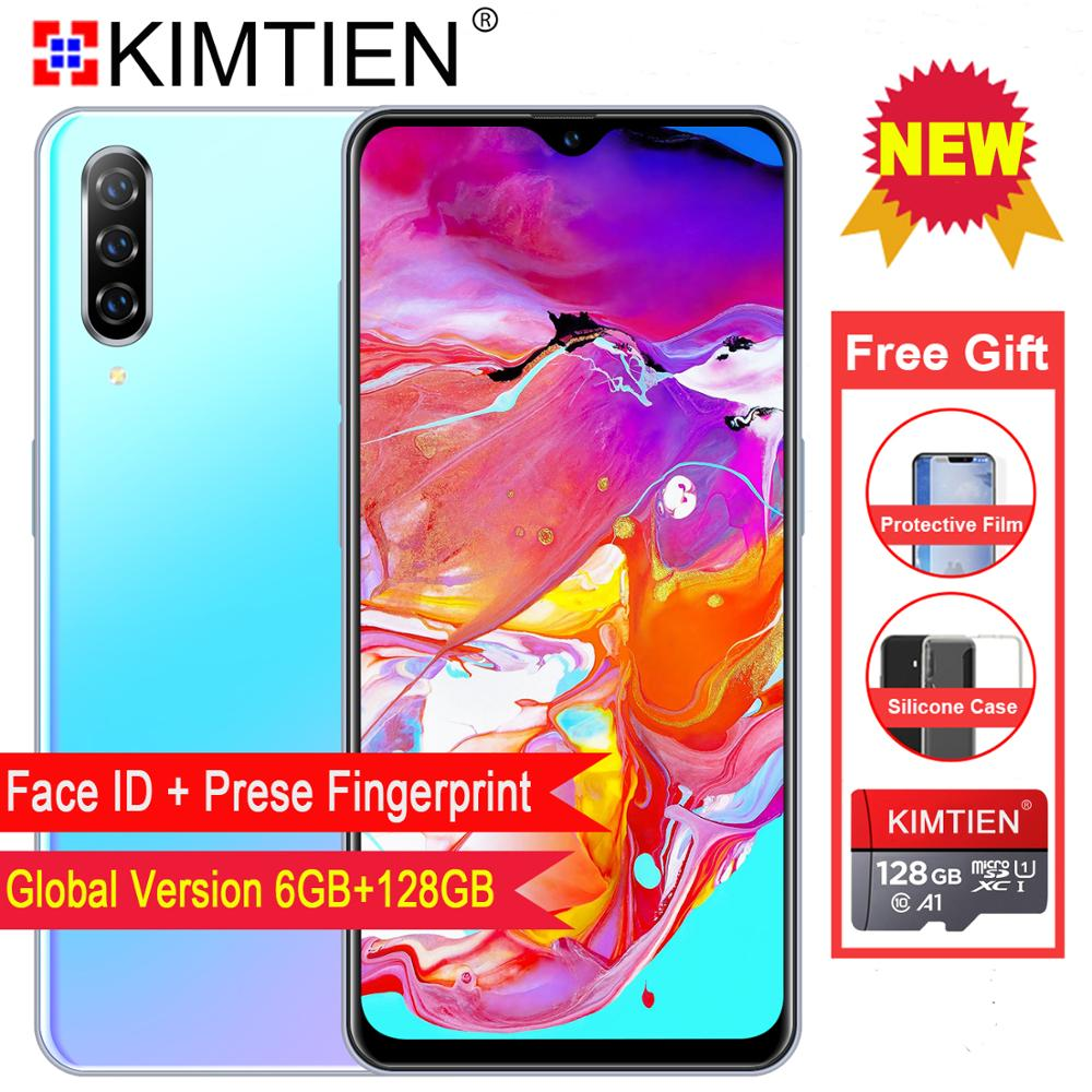 Smartphone M9 Cellphones 6GB+128GB 10 core Android 9.1 Fingerprint Face Unlock Dual Camera 4G Smart Mobile Cell Phone smartphone