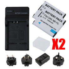 RuigPro NB-11L NB11L NB 11L Battery For Canon PowerShot A2300 IS, A2400 A2500, A2600, A3400 A3500 ELPH 110 HS L10