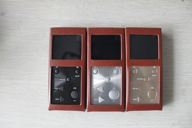 MP3 HIFI Music Player + leather case 5