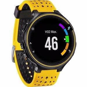 Image 4 - 8色シリコーン交換watch bandガーミンフォア230/235 / 220 / 620 / 630/735腕時計アウトドアスポーツバンド