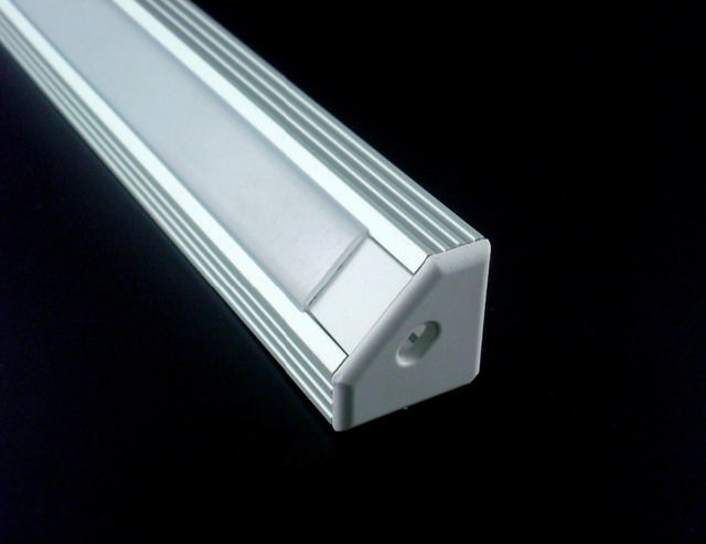 5x1 m 1919 H aluminium profiel met PC cover voor breedte up tot 11mm ...