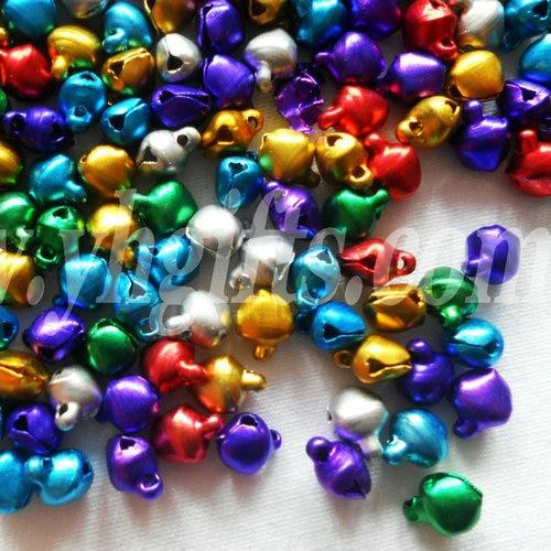 5000pcs Lot 6mm Jingle Bells Lacing Bells Christmas Decoration