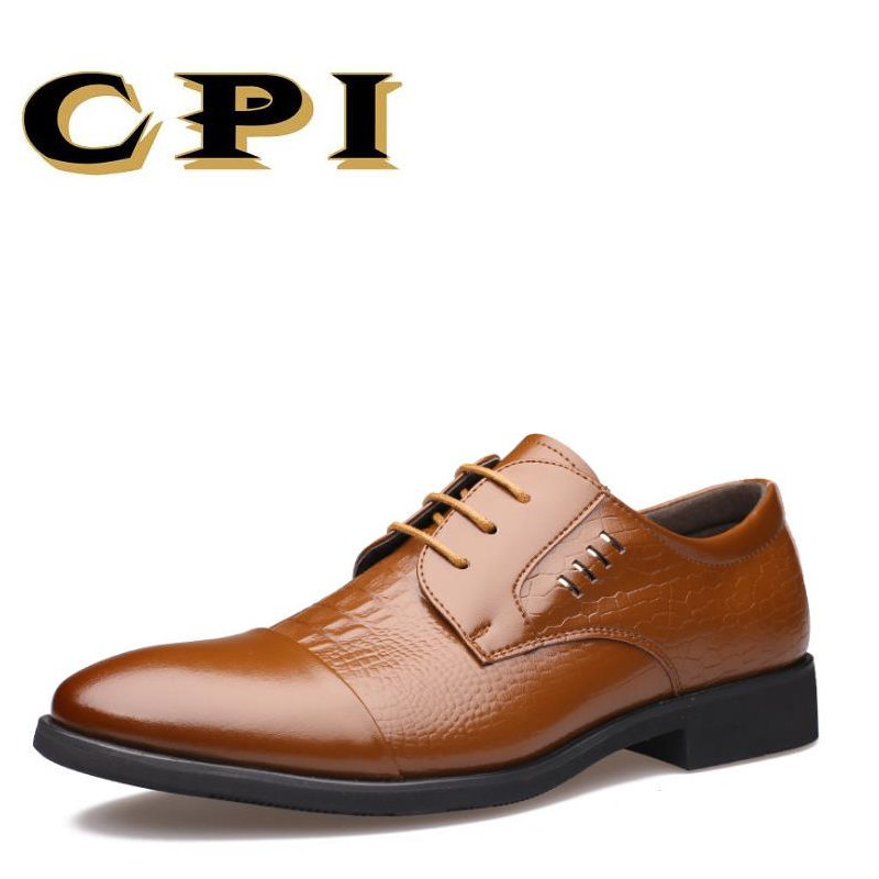 CPI New British Style Fashion design men's Business shoes Men Wedding - Men's Shoes
