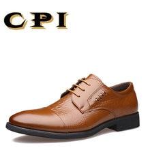 CPI 새로운 영국 스타일 패션 디자인 남자 비즈니스 신발 남자 웨딩 드레스 신발 간단한 Gentlema 사무실 파티 남자 shoesCC-06