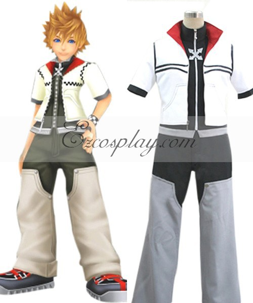 Kingdom Hearts II Roxas Cosplay Costume E001