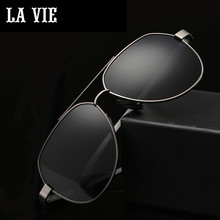 LA VIE Polarized Classic Avaitor Design Fashion Men Sunglasses Coating Lens Male Sun Glasses for gift Oculos De Sol Gafas LVA302