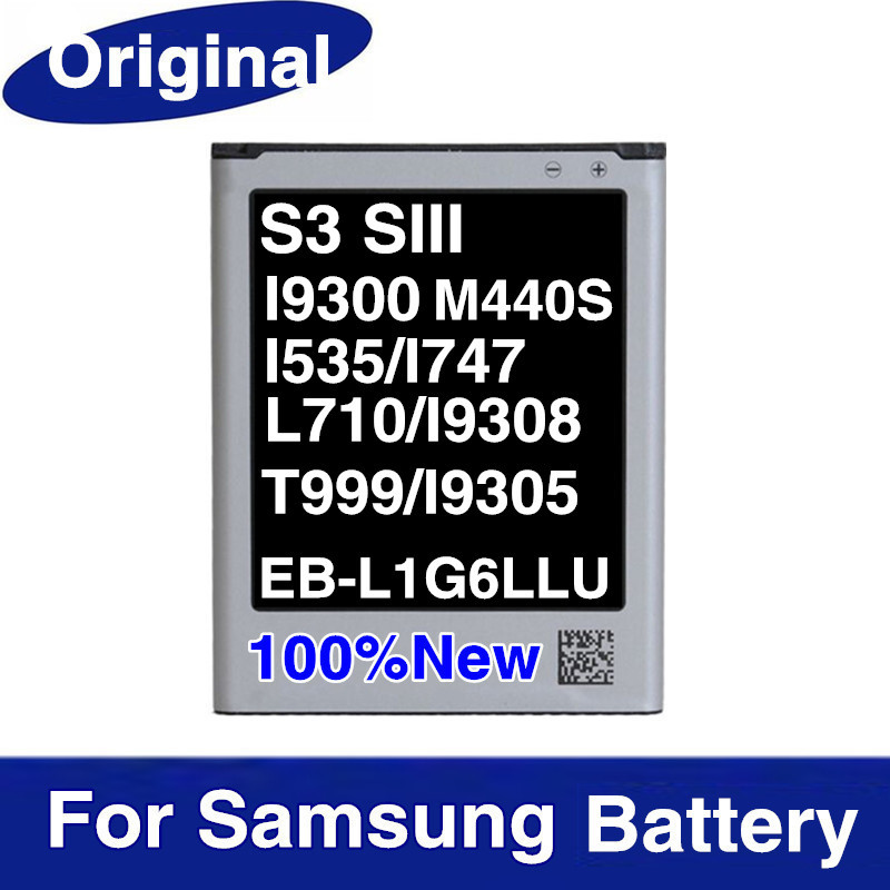 EB L1G6LLU Original font b Battery b font For Samsung Galaxy S3 i9300 i9308 I535 I747