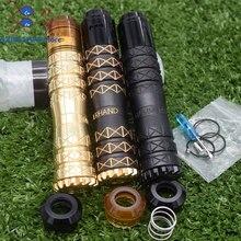 HAMMERHAND mod QP KALI RDA Fatality RDA kit 18650 battery 25mm brass Mechanical Vaporizer mod VS AvidLyfe Ijust S Drag 2 sxk Kit стоимость