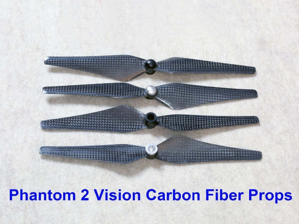 50pair/lot 9443 Self-Tightening Self Locking Carbon Fiber Propeller for DJI Phantom 2 Parts