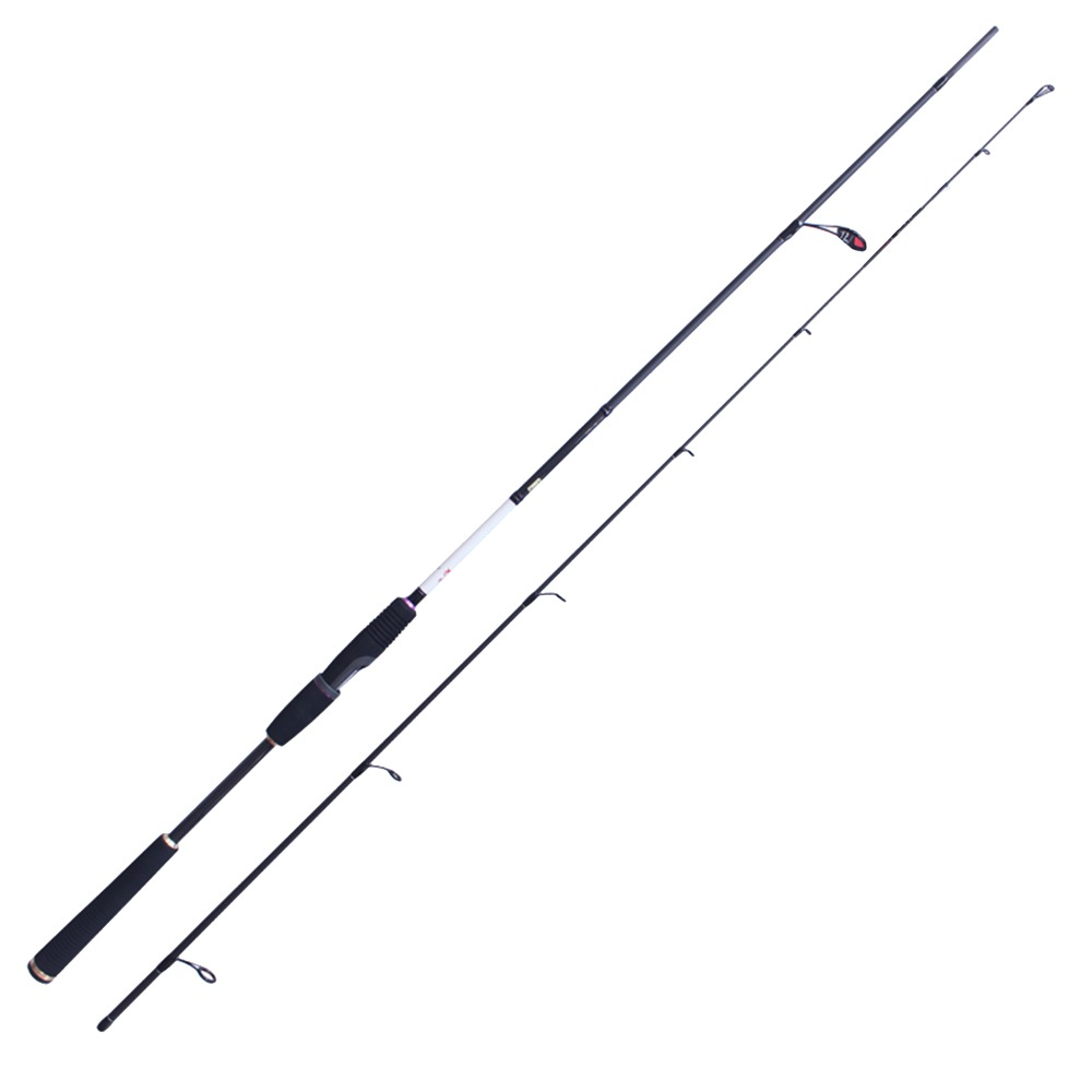 Spinning Rod 2.44m FUJI Guides 98% Carbon Fiber Fishing Rod 6-28g Lure Weight M High Quality Fishing Tackle Lure Rod eurocor high carbon fuji accessories 3 m 3 6 m 2 7 m 3 section straight handle lure rod perch rod boat fishing rod