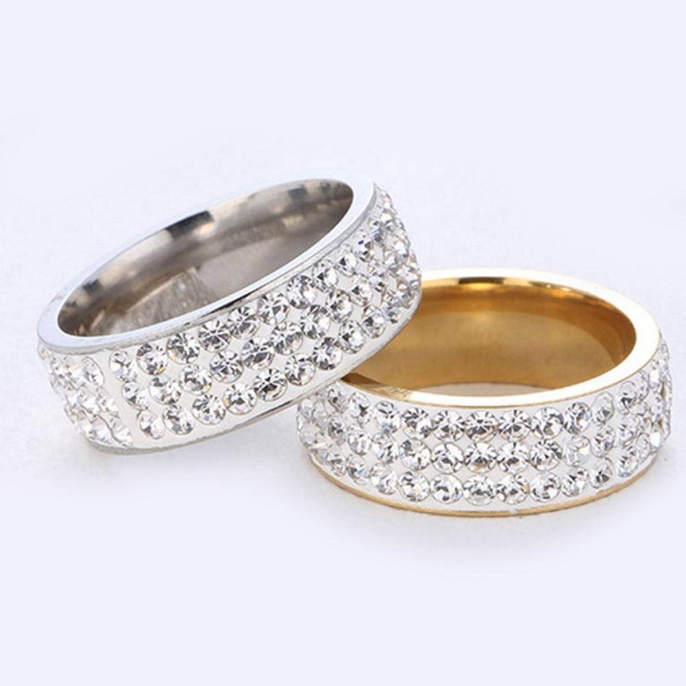 2018 Hot Sale Fashion Stainless Engagement Rings Promise