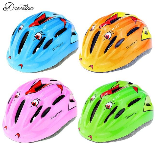 dreetino crianças ciclismo de estrada mtb eps capacete de segurança