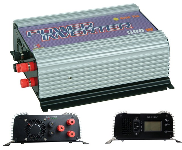 Free shipping,500W Wind power Grid-Tie Inverter,grid tie inverter,power inverter(SUN-500G-WAL),MPPT Function