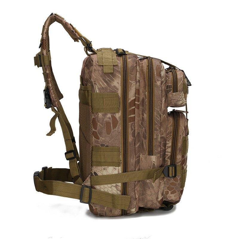 Мужские большой Ёмкость Военная Униформа рюкзак Водонепроницаемый путешествия рюкзак 3 P атаки рюкзак нейлон армейский патруль камуфляж ...