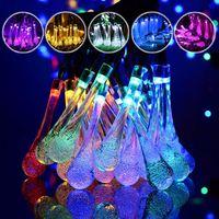 Waterproof 7 Solar Power 50 LED String Light Multicolor Wedding Christmas Party Decor Outdoor Lighting Garden